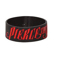 Pierce The Veil Logo Rubber Bracelet - 325817