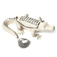 Jeweled Trinket Box - Alligator | Jewelry-boxes | Accessories | Z Gallerie
