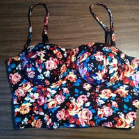 Floral Bustier (M)