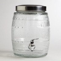 7.5-Liter Glass Barrel Tank | World Market