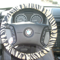 Steering Wheel Cover by julieshobbyhut on Etsy