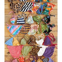 Free People Free People Vintage 1970s French Bikinis