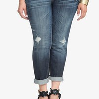 Vigoss - Thompson Tomboy Destructed Skinny Jeans | Skinny