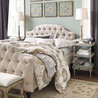 Camden Tufted Bed | Ballard Designs