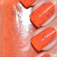 Ida Rose Orange Nail Polish 15ml (.5oz)