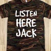 Listen Here Jack - Southern State of Mind - Skreened T-shirts, Organic Shirts, Hoodies, Kids Tees, Baby One-Pieces and Tote Bags
