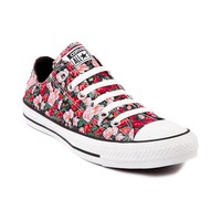 Converse All Starl Lo Floral Athletic Shoe, Black  Journeys Shoes