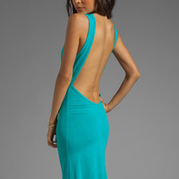 Blue Life Open Back Maxi in Jade from REVOLVEclothing.com