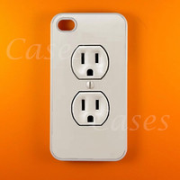 Iphone 4s Case - Wall Plug Iphone 4 Case, Iphone case