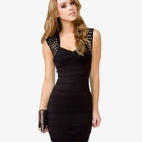 Studded Bodycon Dress | FOREVER 21 - 2025100498
