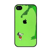 Giving Tree iphone 4 case - Fits iphone 4 &amp; iphone 4s: Cell Phones &amp; Accessories