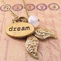 Mermaids dream. a charm necklace
