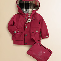 Burberry - Infant's Packaway Raincoat