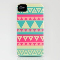 Aztec Pattern, iPhone 4 case, iPhone 4s Case, Hard Plastic, FREE shipping worldwide: Everything Else
