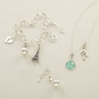 Classic Charm Necklace & Bracelet Collection