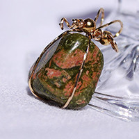 Unakite Pendant