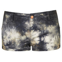 MOTO Tie Dye Hotpants - New In This Week  - New In  - Topshop