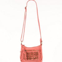 Black Poppy Stud Pocket Small Crossbody Bag at PacSun.com