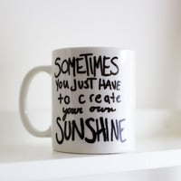 My Own Sunshine - Handpainted Mug