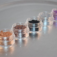 Eye Shadow Mineral Makeup Set of 5 You Choose by greenbubbleshome