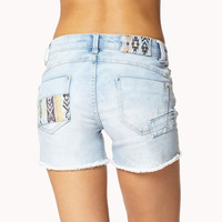 Southwestern Patch Cut Offs
