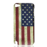 Amazon.com: Gino USA US United States Flag Vintage Style Hard Back Case Cover for iPod Touch 5 5G: Cell Phones & Accessories