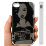 IPHONE CASE, COVER CASE, IPHONE CASE 5, IPhone 4, 4S Case hard plastic-083 Code-Cher Lloyd Pop Art