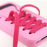 ladylove  cute iShoes Silicone iPhone 4/4S/5 Case