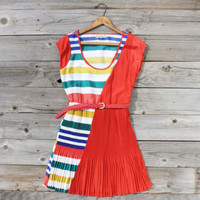 Song Bird Stripe Dress