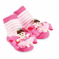 Mud Pie Baby - Mud Pie Princess Socks - Lollipopmoon.com only $12.00 - New Items