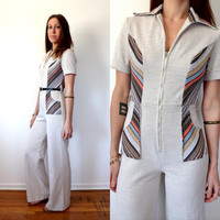 Vintage 70's Jumpsuit Women