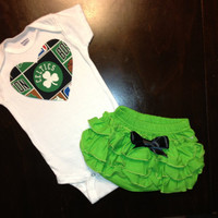 Boston Celtics Girls Gift Set by BebeSucreOnline on Etsy