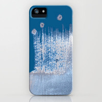 icy iPhone Case by agnes Trachet