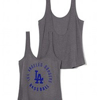 Los Angeles Dodgers Low-back Tank - PINK - Victoria's Secret