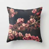 A Romance With Spring  Throw Pillow by Bree Madden