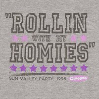 Ladies Rollin With My Homies Clueless T-Shirt : TruffleShuffle.com