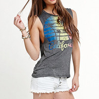 Workshop Palm Trees Muscle Tank at PacSun.com