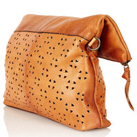 Geo Perforated Crossbody Bag - Back In Stock - New In - Topshop USA