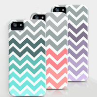 Chevron Fade Pattern iPhone cases by RexLambo