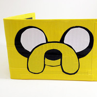 Jake The Dog Adventure Time Duct Tape Wallet