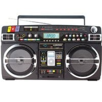 Retro Blaster BoomBox for iPod