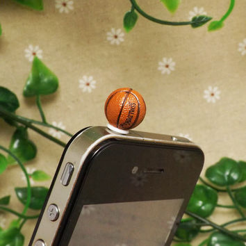30 OFF Cute NBA Mini Basketball Anti Dust Plug 35mm by Polaris798