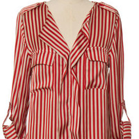 Striped Sailor Blouse