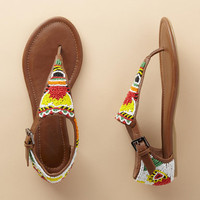 BRIGHTLY BEADED SANDALS         -                  Sandals         -                  Footwear & Bags                       | Robert Redford's Sundance Catalog