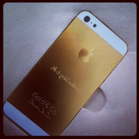 24Ct. Gold Edition 16GB iPhone 5 (Black) (Sultanate Of Oman Limited Edition)