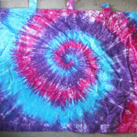 Tie dye Curtains- set of 2