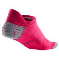Nike Dri-Fit Elite Run Cushion No-Show Sock - Women&#x27;s at Foot Locker