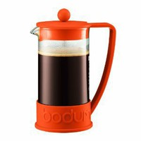Bodum New Brazil 8-Cup French Press Coffee Maker, 34-Ounce, Orange