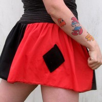 Harley Quinn Batman inspired costume Cosplay tutu Skirt Arkham DC Comics