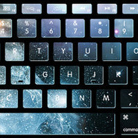 Nebula stickers  keyboard decal MacBook decal MacBook air sticker MacBook pro decal J-011